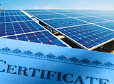 IECRE Solar PV Energy Test Certificates